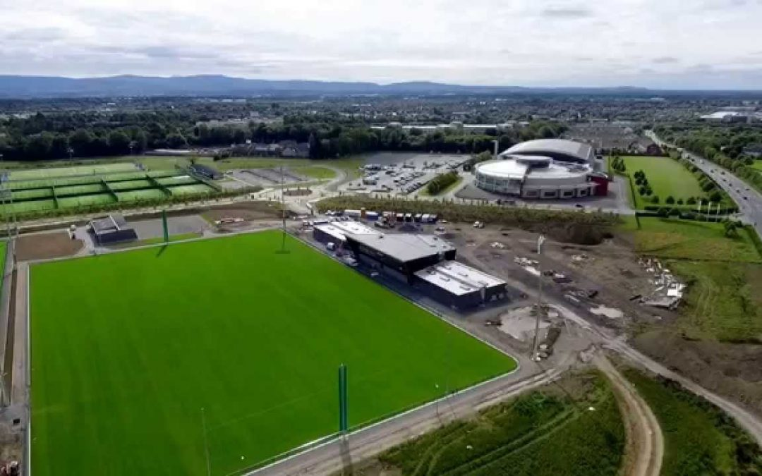 Take A Look At This Fantastic Drone Footage Of The National Sports Campus
