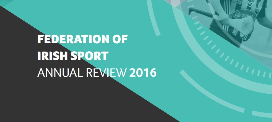 Annual Review of Irish Sport 2016 launched