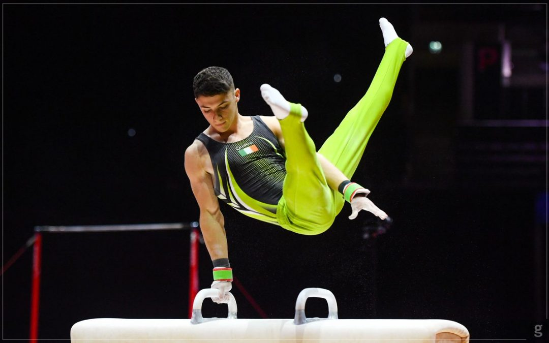 Gymnastics Aiming for Gold