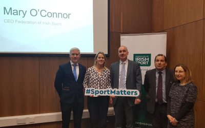 Federation of Irish Sport host Large Scale Sports Infrastructure fund information session