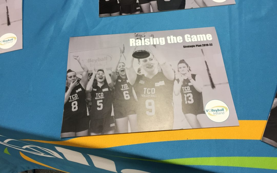 Volleyball Ireland are Raising the Game with their new Strategic Plan