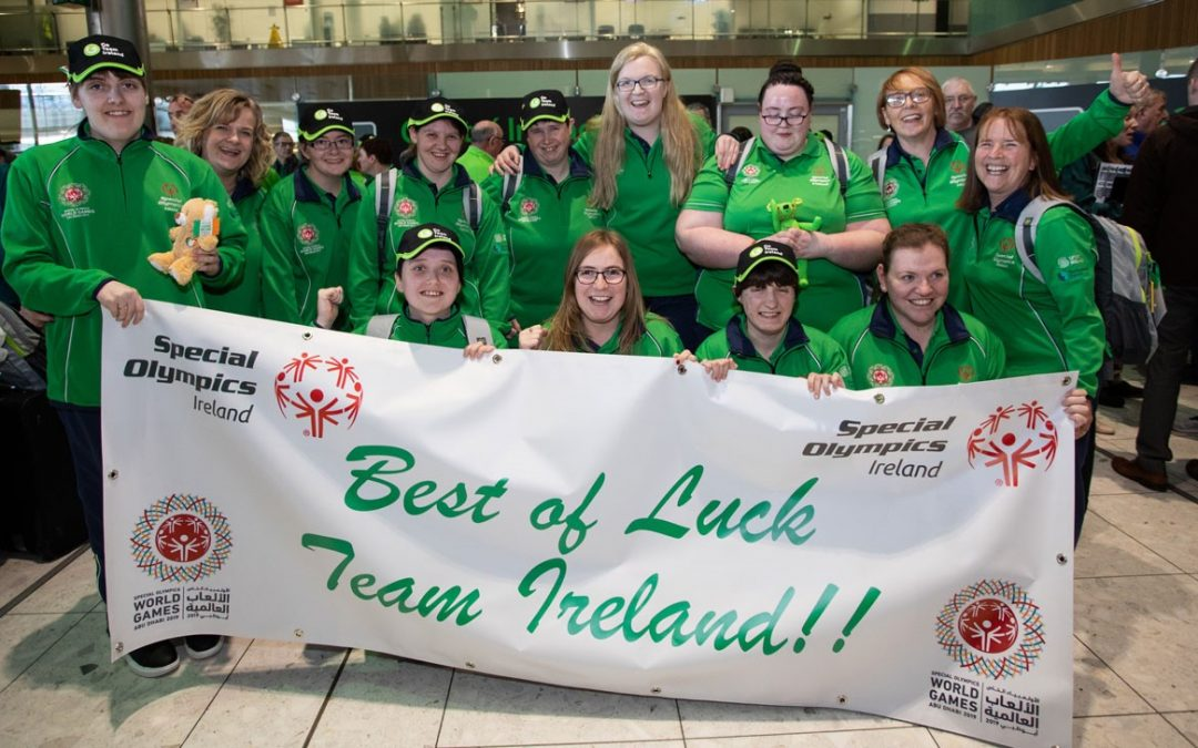 Best of luck to Team Ireland at the World Games!