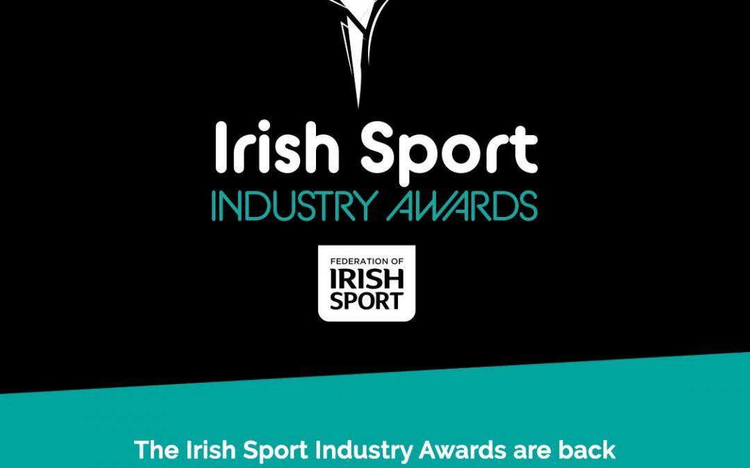 The Federation of Irish Sport launches the 2019 Irish Sport Industry Awards