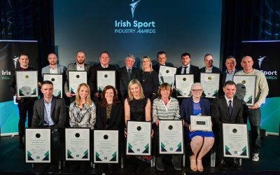 Irish Sport Industry Award winners – hugely successful night at the 4th annual ISIA's hosted by the Federation of Irish Sport