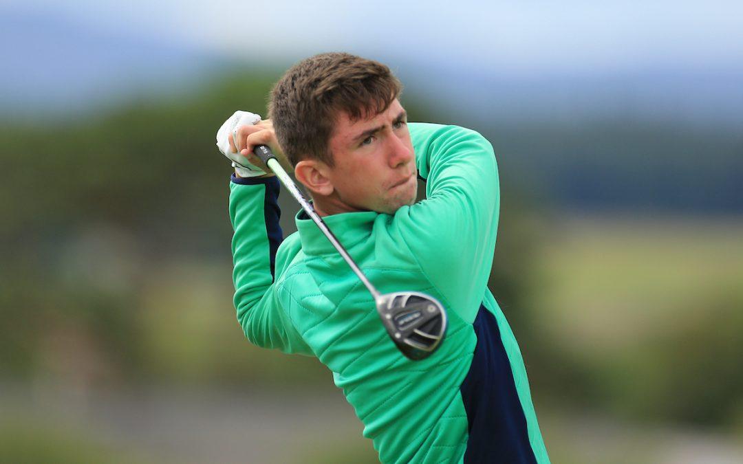 Tom McKibbin wins prestigious Peter McEvoy Trophy