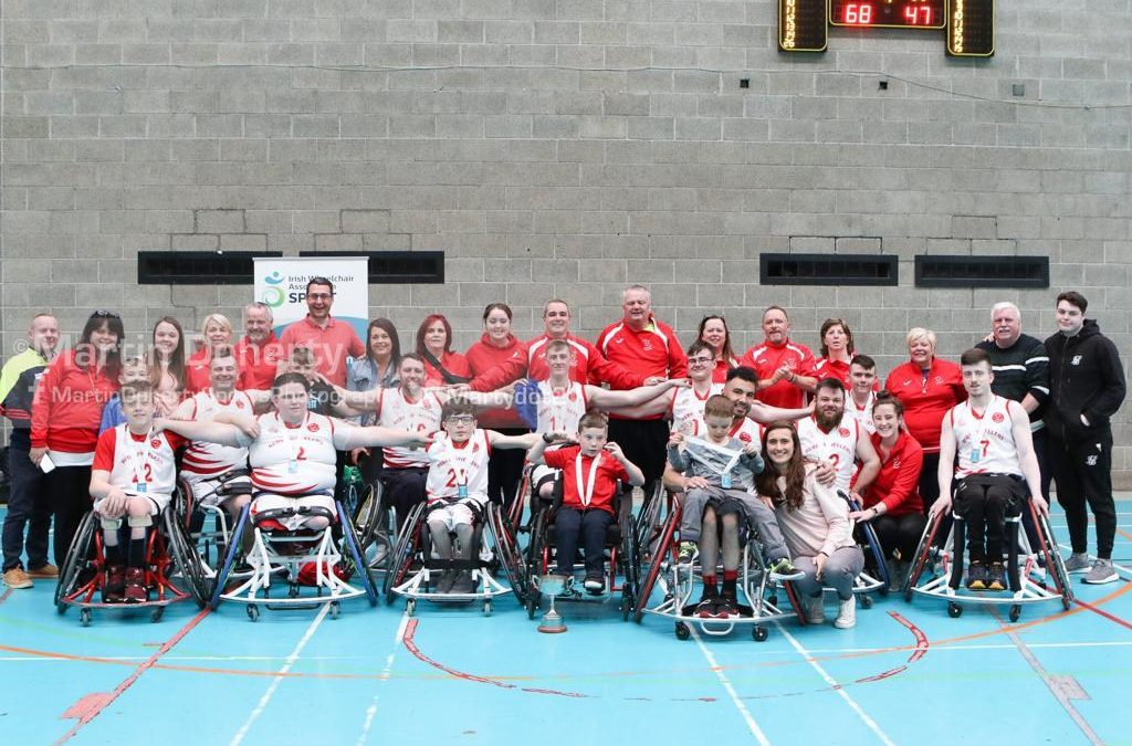 The Good Times Roll – celebrating a successful year with Rebel Wheelers Basketball