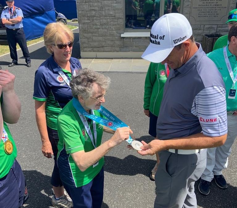 Special Olympics golfers soak up the atmosphere and celebrate a fantastic year at The Open in Portrush