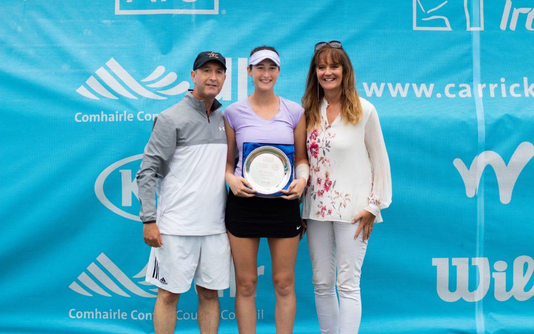 'Two Irish Winners Caps off a Sijsling Week of Tennis at Carrickmines …'