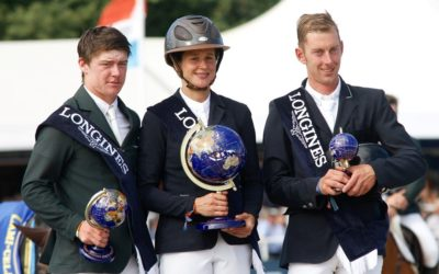 Stunning performance sees Irish horses and riders claim two Gold and two Silver medals at World Breeding Championship in Belgium
