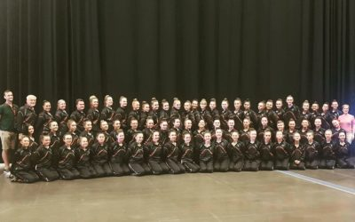 Baton Twirling team bring home 8 medals from International Cup