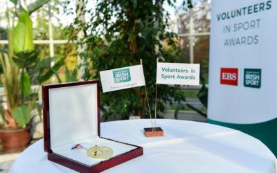 Volunteers in Sport Winners honoured in Farmleigh House