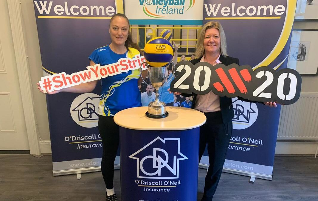 O'Driscoll O'Neil on board with Volleyball Ireland