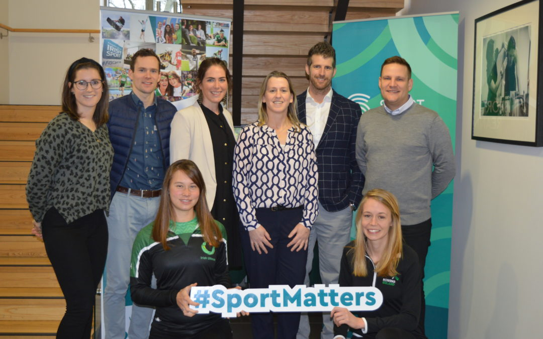 Federation of Irish Sport announces recipients of 'Showcase your Sportswomen Live' fund in partnership with Pundit Arena and supported by Sport Ireland.