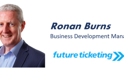 'Time to Ticket – meet our partners' – Ronan Burns, Future Ticketing.