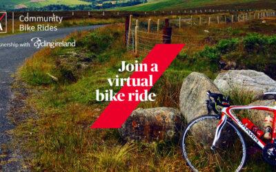 Cycling Ireland and AXA Community Bike Rides launch Virtual Solo Bike Rides!