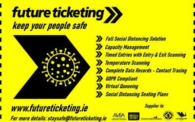 Future Ticketing – on hand for capacity management, contact tracing and timed entry for your event or activity!
