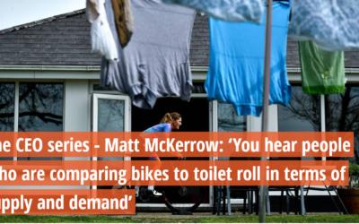 COVID-19: Irish Examiner and Federation CEO Series – Matt McKerrow, CEO Cycling Ireland