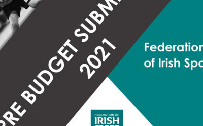 Federation of Irish Sport Pre-Budget Submission – Budget 2021