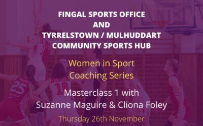 Fingal Sports Office – Women in Sport Coaching Series