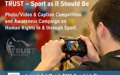 TRUST Ireland – Photo, Video, and caption competition celebrating human rights in and through sport.