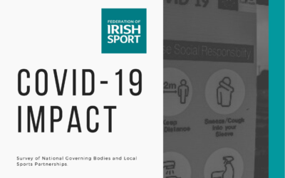 FEDERATION OF IRISH SPORT RELEASES REPORT ON IMPACT OF COVID-19 ON SPORT AND PHYSICAL ACTIVITY SECTOR